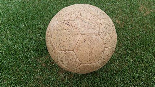 Base in sughero ball palloni taglia 5 Pear gioco palla vegani in pelle EM in sughero Tessuto palline