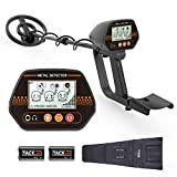 Metal Detector, 3 Modes Adjustable Waterproof Detectors...
