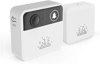 WIFI Deurbel, Smart IP Video Intercom Draadloze Video Deurtelefoon IR Alarm Camera voor Home Security Appartementen,Doorbe...