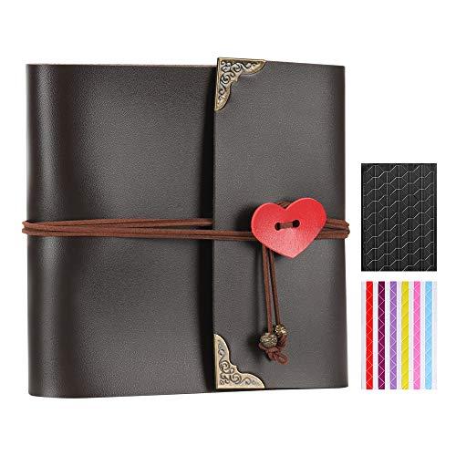 XIUJUAN Album de Fotos para Pegar Álbum Scrapbooking DIY Libros de Firmas...