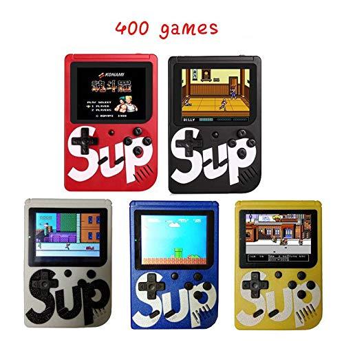 Mini consola de juegos SUP Plus 400 en 1 videojuegos portátiles retro clásicos