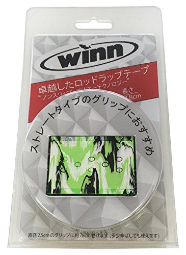 winn(ウィン) 釣り用グリップラップテープ オーバーラップ ロング OW11-LC ライムカモ