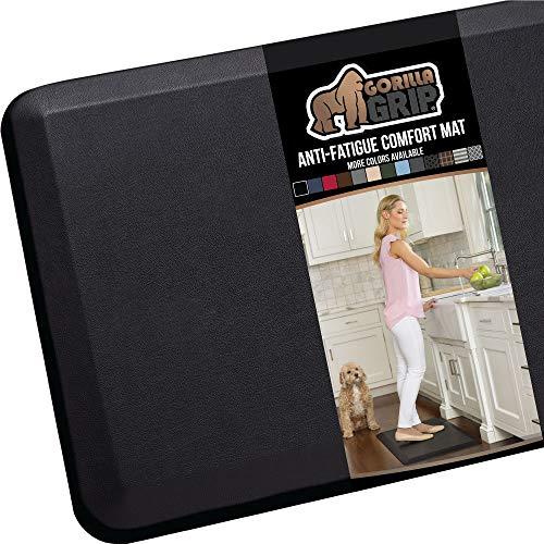 cheap GORILLA GRIP Original Premium Anti-Fatigue Comfort Mat, No Phthalate, Flat and Ergonomic Design …