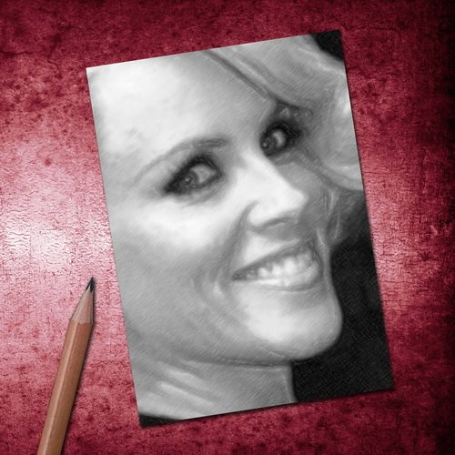 Seasons Jenny McCARTHY - ACEO Sketch Card (Signed by The Artist) #js005