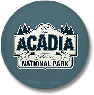 Acadia National Park Mini Button 1