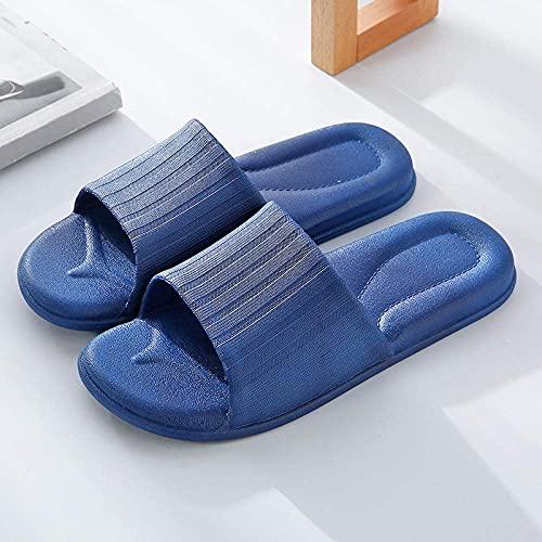 Slider Sandals Shoe, Pantuflas de baño con Fondo Suave-Tibetan_38-39, Zapatos Casuales de Playa y Piscina de Moda