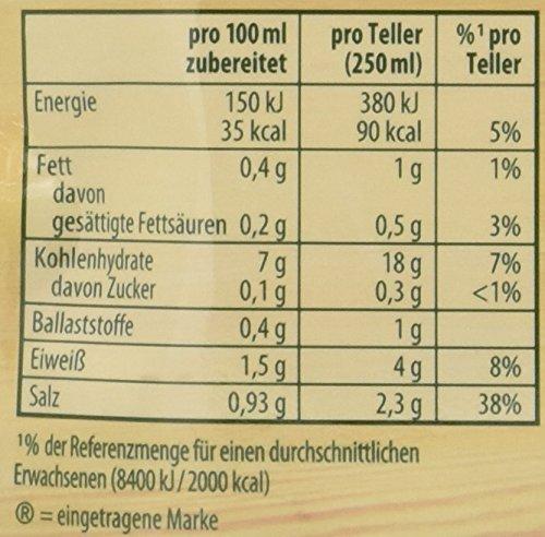 Knorr Suppenliebe Buchstaben Suppe, 14 x 3 Teller - 6
