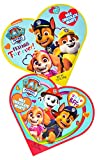Assorted Paw Patrol Valentines Day Gift Box with Milk Chocolate Hearts, Pack of 2