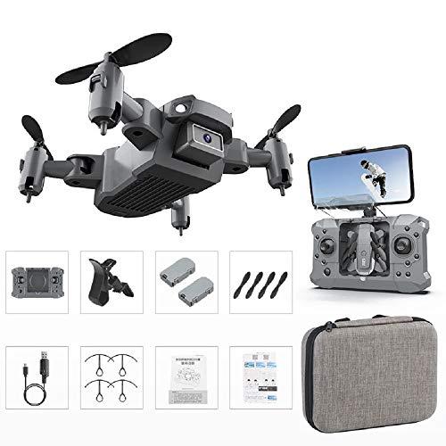 Mini Drone para niños, KY905 Drone plegable 4K Cámara HD con retención...