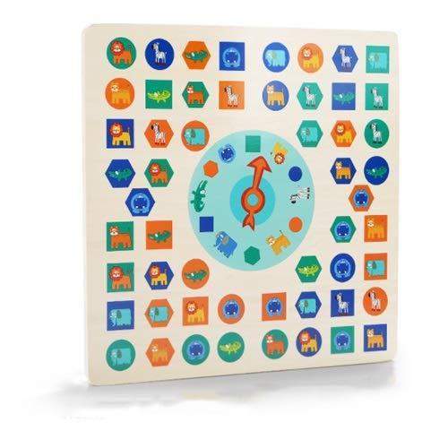 Lihgfw Eltern-Kind-Interaktion Schachlernspielzeug Brettspiele Kinderspiele Schach Fliegen Schach Kindergarten Jumping Checkers Fun-Interaktion (Color : Multi-Colored)