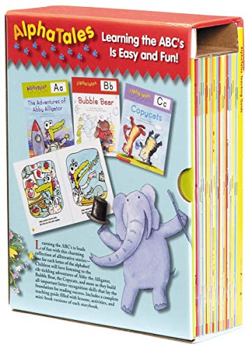 AlphaTales Box Set: A Set of 26 Irresistible Animal Storybooks That Build...
