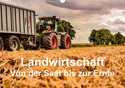 Landwirtschaft - Von der Saat bis zur Ernte (Wandkalender 2021 DIN A3 quer)