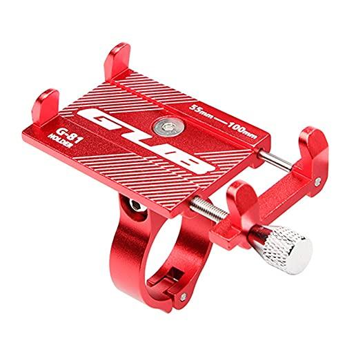 PPKZY Tenedor de teléfono móvil de la Bicicleta del Manillar de la Motocicleta, Soporte para teléfono Inteligente para la Bicicleta al Aire Libre Entretenimiento