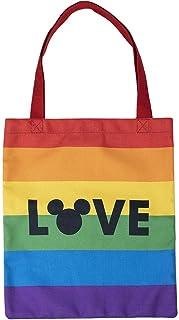 CERDÁ LIFE'S LITTLE MOMENTS - Tote Bag Stoffbeutel Umhängetasche Disney Pride - Offizielle Disney Lizenz, Bunt, Einheitsgr...
