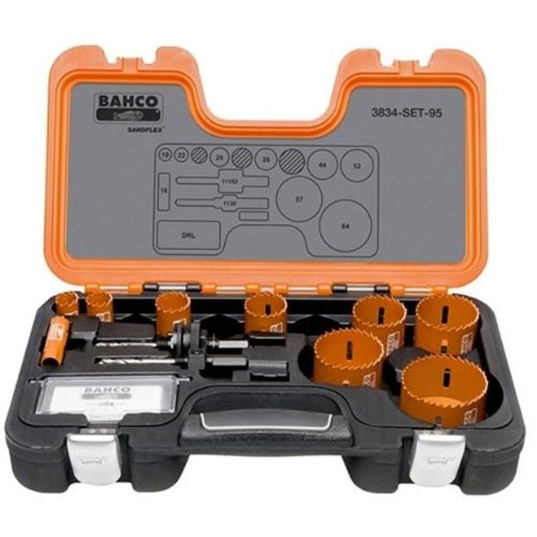 気分が悪いチキン耐久BAHCO(バーコ) Holesaw Set Bi-Metal バイメタルホルソー セット 3834-SET-94