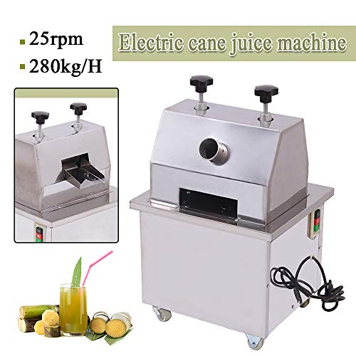 Sale!! PROMOTOR Electric Sugar Cane Juicer 110V Commercial Sugar Cane Ginger