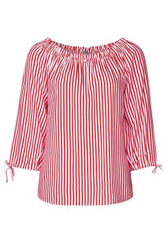 Street One Damen Odetta Bluse, Mehrfarbig (Red), (Herstellergröße:42)