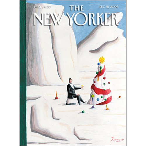 The New Yorker (Dec. 18, 2006) audiobook cover art