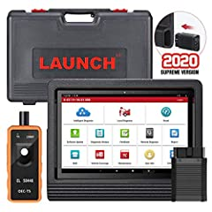 【2020 Advanced OE-LEVEL Diagnostic Scanner】LAUNCH X431 V+ PRO 4.0 Diagnostic Tool add more OE-Level features as➤SCN Coding for Benz ( LAUNCH X431 V PRO NO!!!) ➤Guided Functions ➤Online Coding (compatible with BMW, VW, Audi, Porsche, Seat etc)➤Setting...