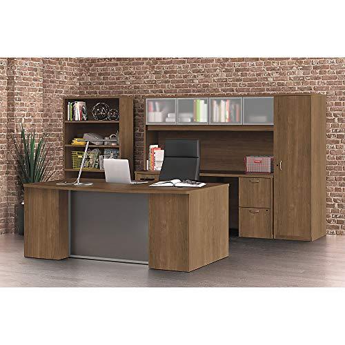 """HON Foundation Straight Desk Shell, 60""""W, Pinnacle -  HONLM6030PNC"""