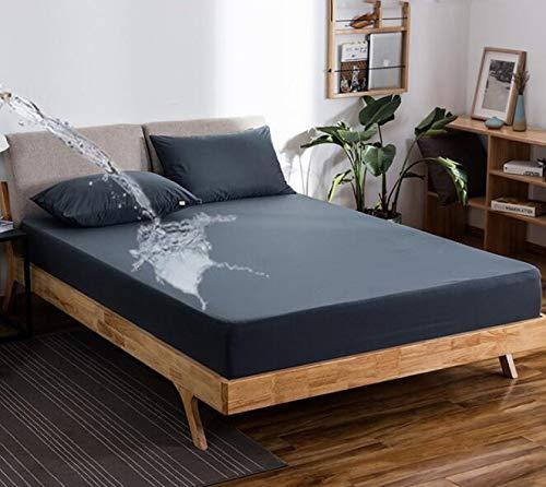 Funda de Colchón de cama Funda de Microfibra Impermeable, Se utiliza para Sábanas de Colchón Gruesas, Antideslizante, Antiarrugas y Antidesvanecimiento. Protector de Colchón Simmons para Muebles de ho