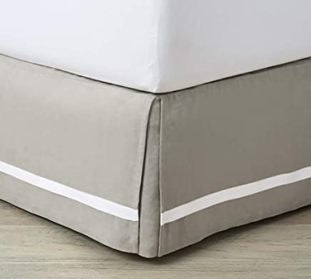 Taupe Euro King Ikea Confort Phalanges 600tc 1 Cache Sommier