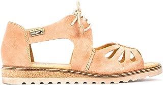 Women's Alcudia Sandal, Peach,9.5-10 M US