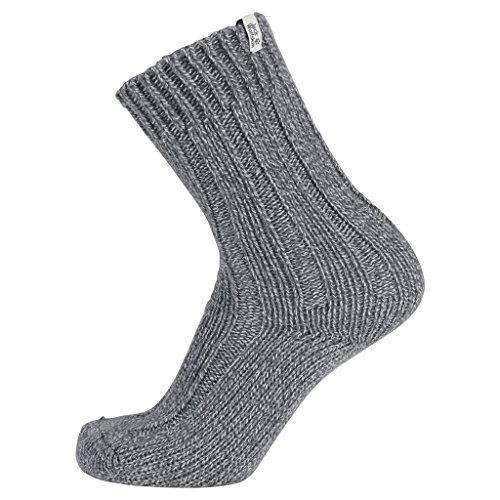 Jack Wolfskin Recovery Wool Sock Classic Cut, Light Grey, 47-49
