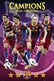 1art1 54585 Fußball - FC Barcelona, Champions, Messi,