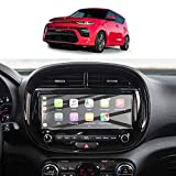 Screen Protector Film for 2020 2021 Soul EV Soul Booster Navigation Display Tempered Glass 9H Hardness Anti-Explosion & Scratch HD Clear Kia GPS LCD Touch Screen Protector Foils (10.25In)