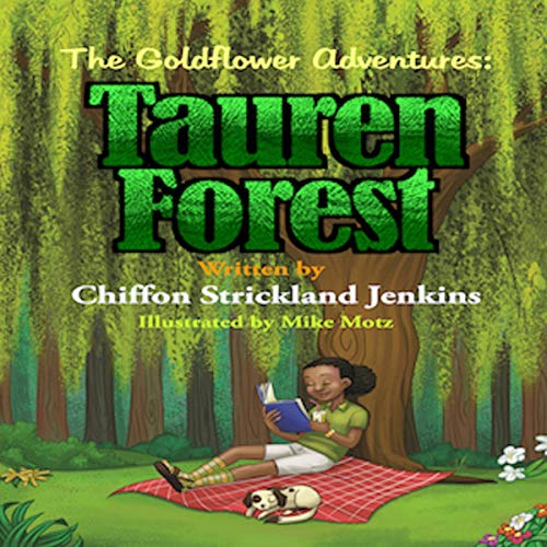 Tauren Forest - The Goldflower Adventures audiobook cover art