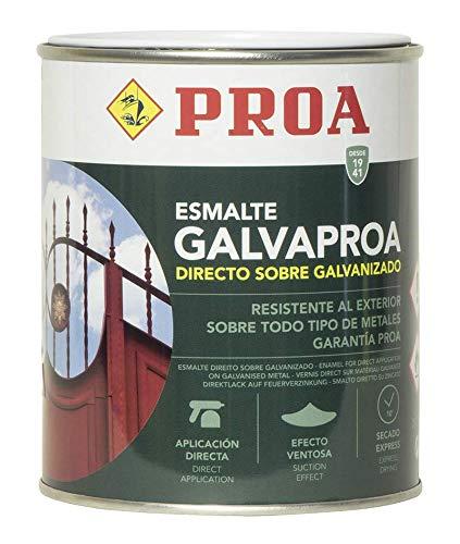 Esmalte Forja directo sobre galvanizado o hierro. Galvaproa Forja. Negro 750 ML.