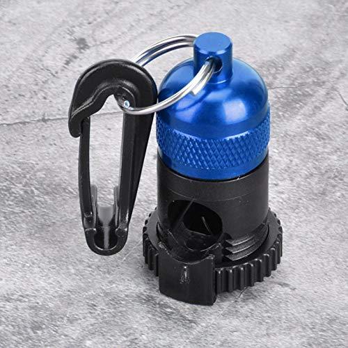 Regulador magnético de Buceo de tamaño pequeño de Metal magnético súper Fuerte, para Accesorios de Buceo con un Gancho fácil de Colocar en la Bolsa(Blue)
