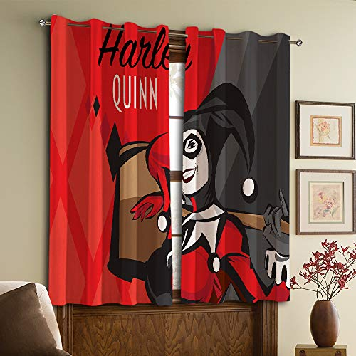 51UE2o1-iGL Harley Quinn  Curtains