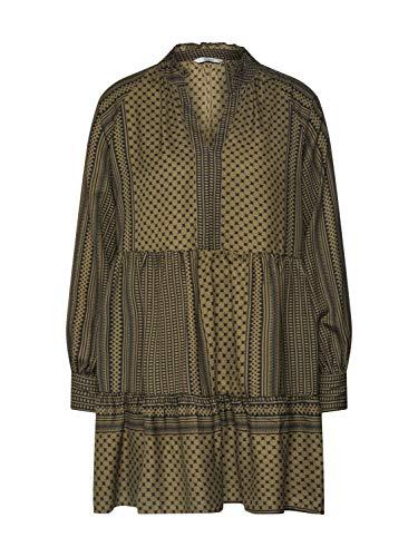 ONLY Damen ONLSOUL L/S Short Dress WVN Kleid, Kalamata, 36