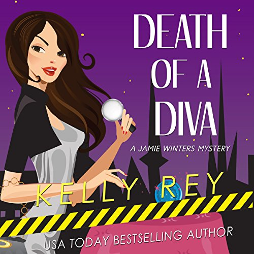 Death of a Diva audiobook cover art