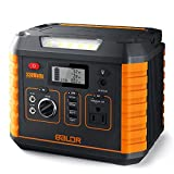 BALDR Portable Power Station 330W, 2019 Updated Portable Solar...