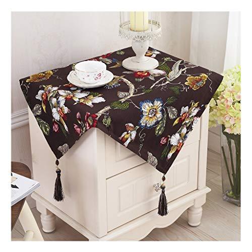 Qiao jin &tafelkleed katoenen tafelkleed Europese en Amerikaanse stijl doek doek handdoek pastorale stijl thee tafelkleed Chinese stijl mahonie nachtkastje tafelkleed tafelkleed