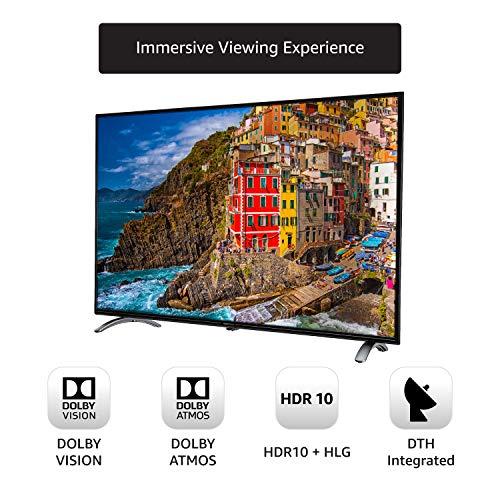 AmazonBasics 127cm (50 inch) 4K Ultra HD Smart LED Fire TV AB50U20PS (Black) 2