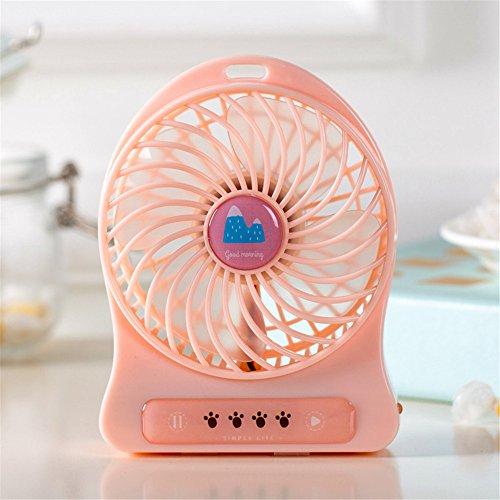 Mini frigo usb alla moda ventilatori elettrici gli studenti ufficio portatile palmare piccole ventole K