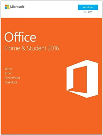 Office 2016 Home and Student | English Language | Boxed Product | 1 Activation for Windows