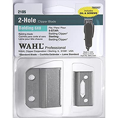 Wahl Balding Clipper New Replacement Blade Set*** 0.4mm * Model no: 2105