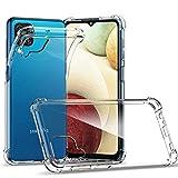 Samsung Galaxy A12 Case, CASEVASN Ultra [Slim Thin] Flexible TPU Reinforced Corners [Anti-Scratch] Gel Rubber Soft Skin Clear Silicone Protective Phone Case Cover for Samsung Galaxy A12 5G (Clear)