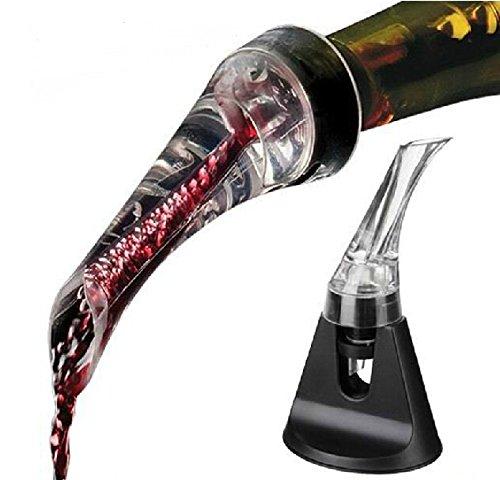 Clest F&H olécrâne Decanter Vin Verseur aérateur de vin Deluxe, de vin de qualité avec Effet VenturiClest F&H olécrâne Decanter Vin Verseur aérateur de vin Deluxe, Effet Venturi