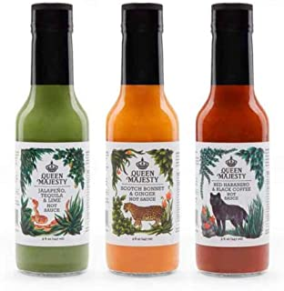 Queen Majesty Gift Set - Award Winning Sauces - All Natural