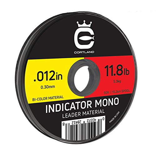 "Cortland Indicator Mono (Yellow/Red.012"" / 11.8 LB)"