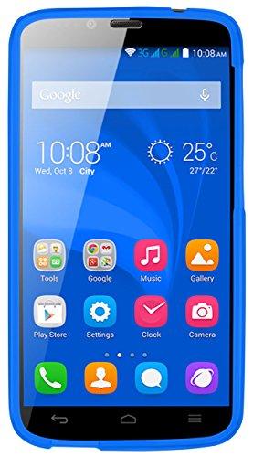 kazoj Schutzhülle kompatibel mit Huawei Honor Holly Hülle aus TPU in blau - 6