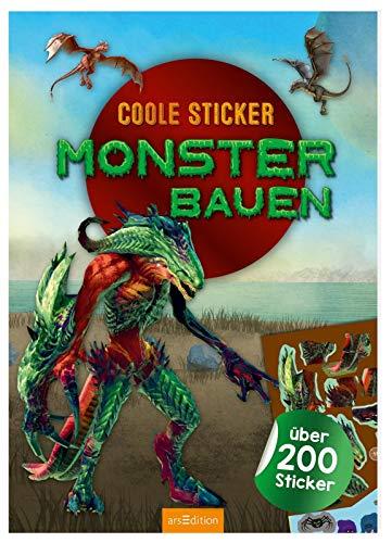 Coole Sticker - Monster bauen: über 200 Stickern