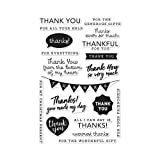 Hero Arts CM135 Clear Stamps, Thank You Messages