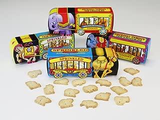 Circus Wagon Sprinkled Animal Cookies (24 Ct)